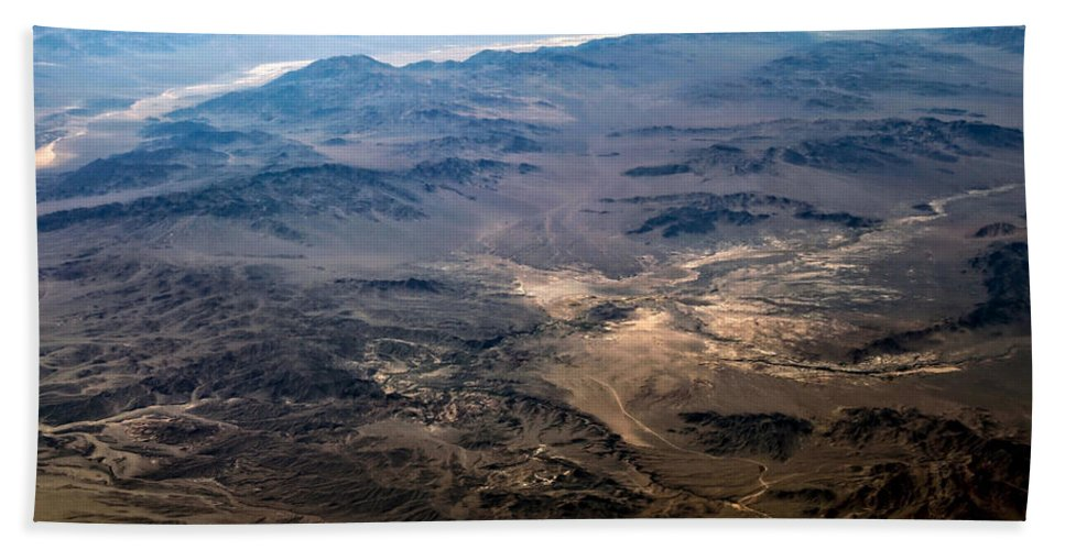 Adventure Bath Sheet featuring the photograph Death Valley 18 by Ingrid Smith-Johnsen