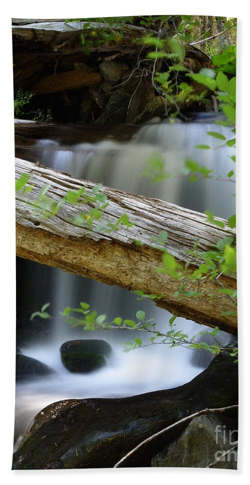 Creek Bath Towel featuring the photograph Deer Creek 13 by Peter Piatt