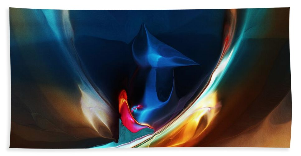 Fine Art Bath Towel featuring the digital art Deja vu by David Lane