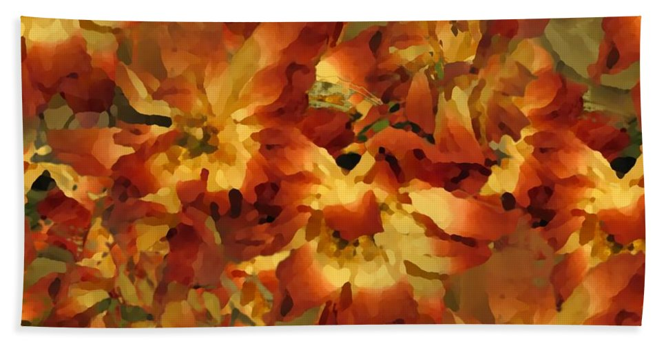 Flowers Hand Towel featuring the photograph Delightful by Tim Allen