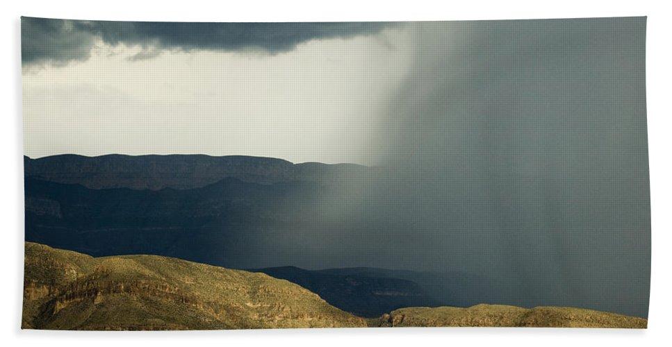 Desert Bath Sheet featuring the photograph Desert Storm by Renee Hong