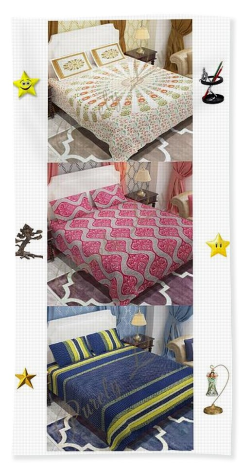 Home Decoronline Bath Sheet featuring the photograph Designer Bed Sheet To Decor Home by Sofia Zoe