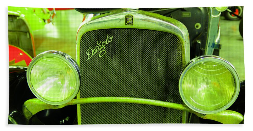 Old Bath Sheet featuring the photograph Desoto by Jeff Swan