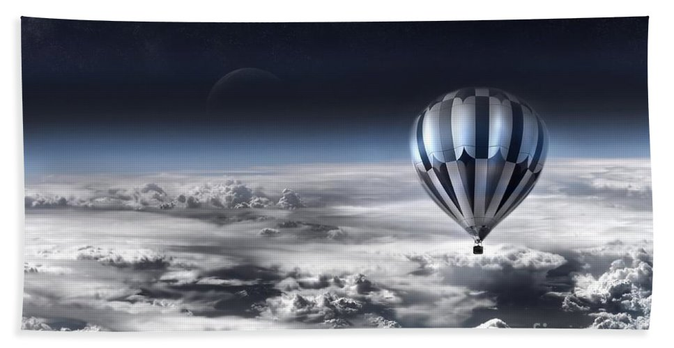 Sky Hand Towel featuring the photograph Destiny by Jacky Gerritsen