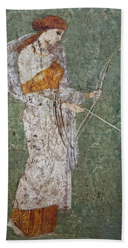 Fresco Hand Towel featuring the photograph Diana by Joachim G Pinkawa