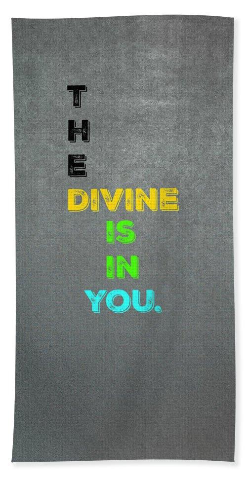 Divine Bath Sheet featuring the photograph Divine #4 by Joseph S Giacalone