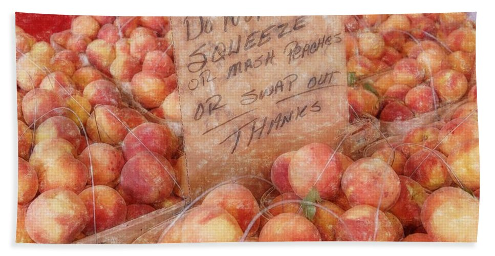 Cobbler Hand Towel featuring the photograph Do Not Squeeze by Randy Walton