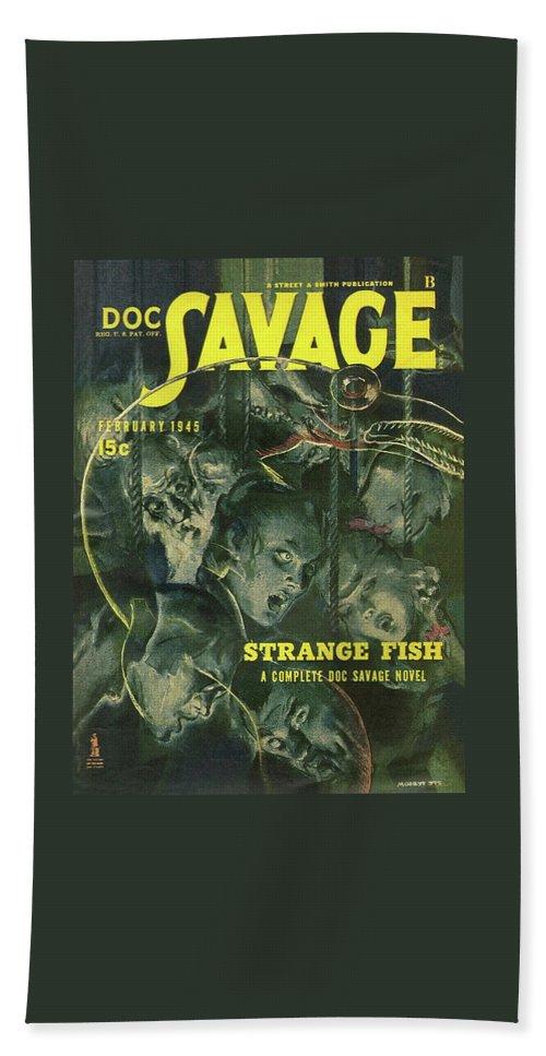 8d345970 Doc Savage Strange Fish Bath Sheet for Sale by Conde Nast