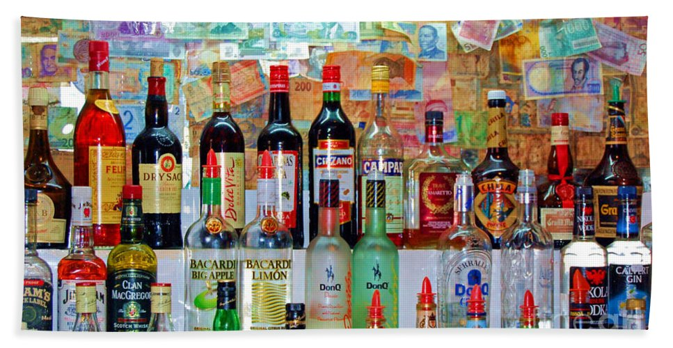 Liquor Hand Towel featuring the photograph Don Q by Debbi Granruth