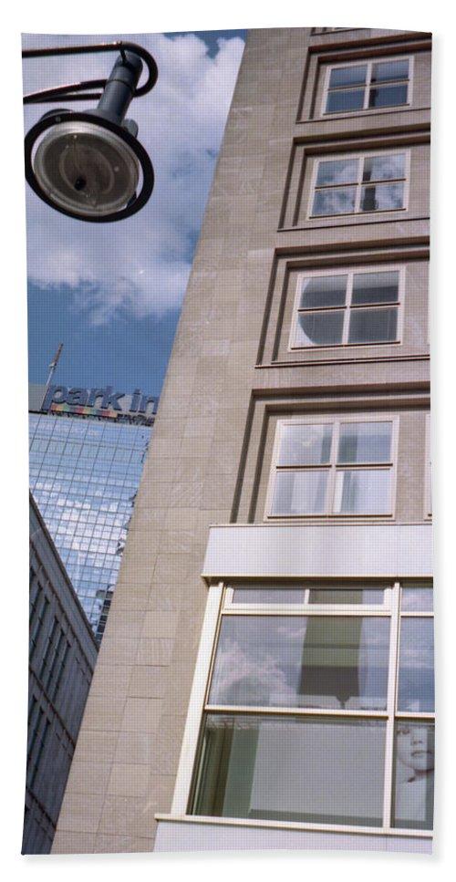 Berlin Bath Sheet featuring the photograph Downtown Berlin by Nacho Vega