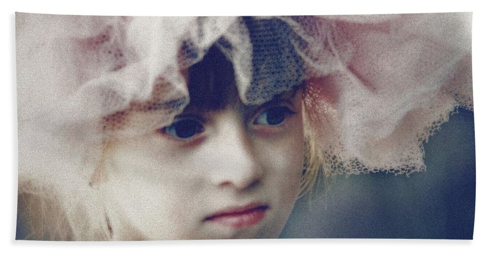 Dreams Hand Towel featuring the photograph Dreams In Tulle 2 by Marna Edwards Flavell