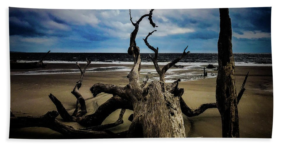 Landscape Hand Towel featuring the photograph Drift Woods by Adam Rogers