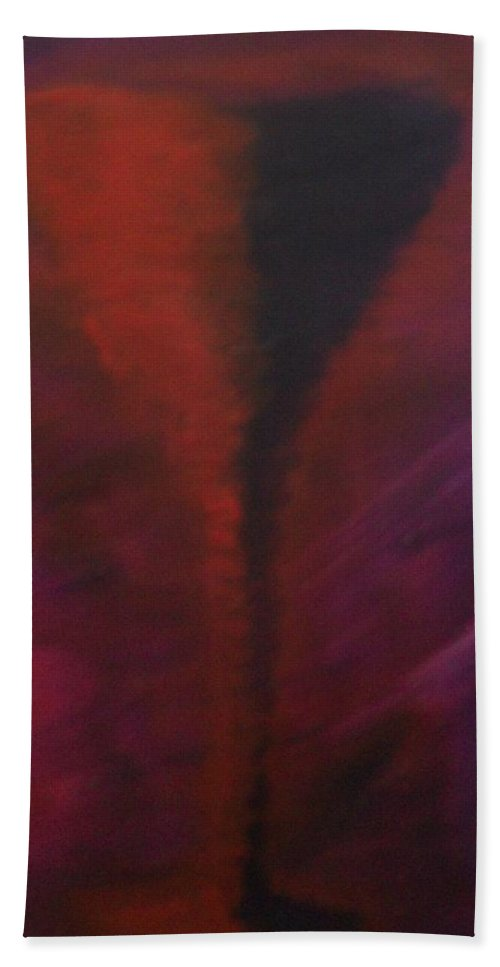Drink Hand Towel featuring the painting Drink by Laurette Escobar