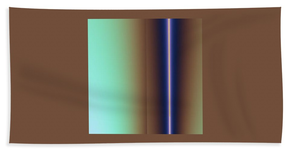 Digital Art Bath Sheet featuring the digital art Duality IIi by Dragica Micki Fortuna