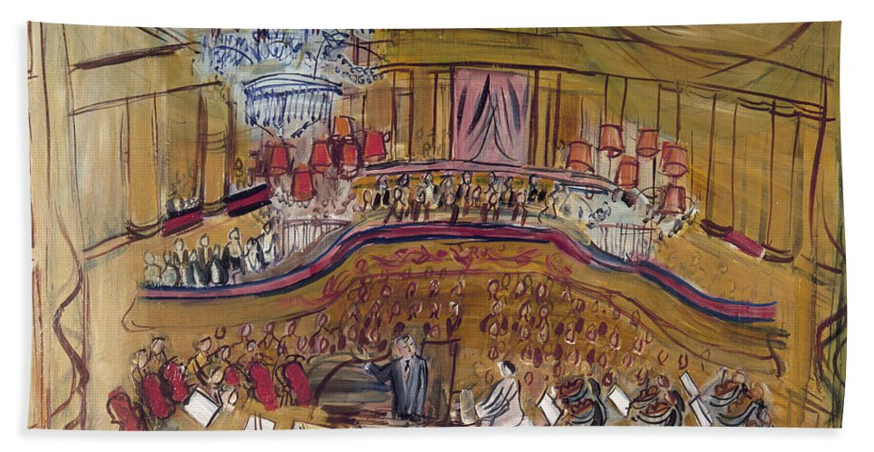 1948 Hand Towel featuring the photograph Dufy: Grand Concert, 1948 by Granger