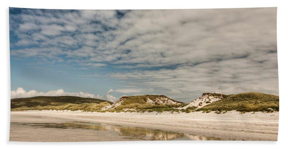 Scotland Bath Sheet featuring the photograph Dunes by Colette Panaioti
