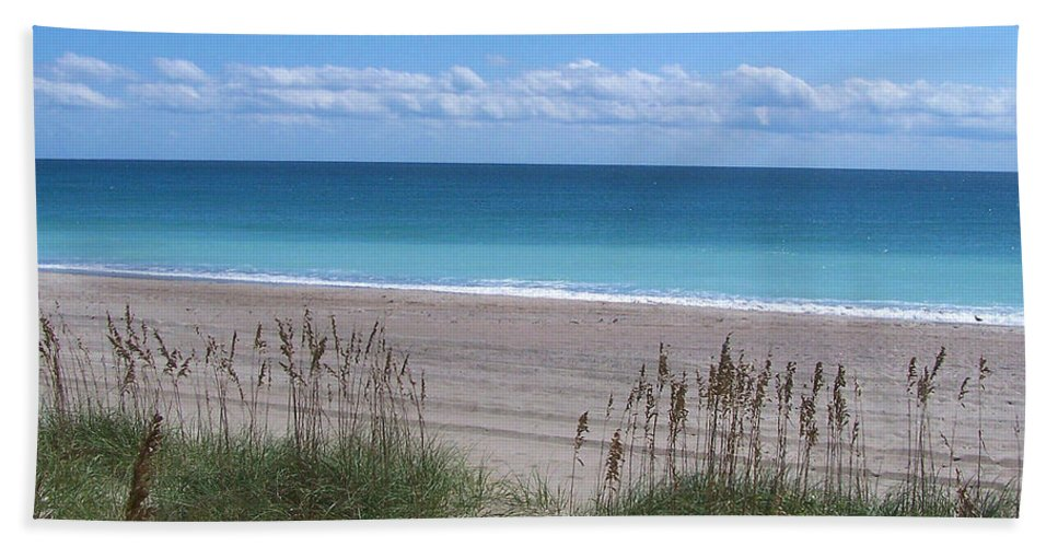 Beach Hand Towel featuring the photograph Dunes On The Outerbanks by Sandi OReilly