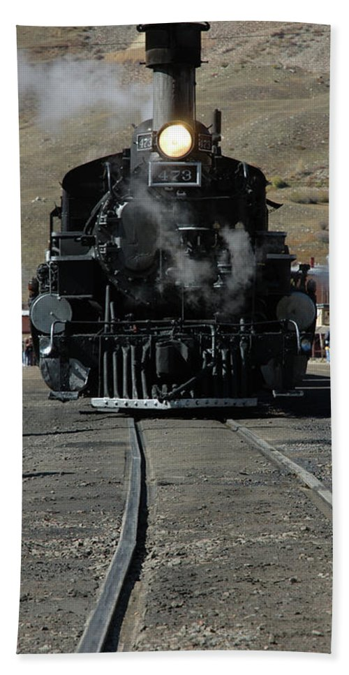 Steam Bath Sheet featuring the photograph Durango Silverton Narrow Guage by Jerry McElroy