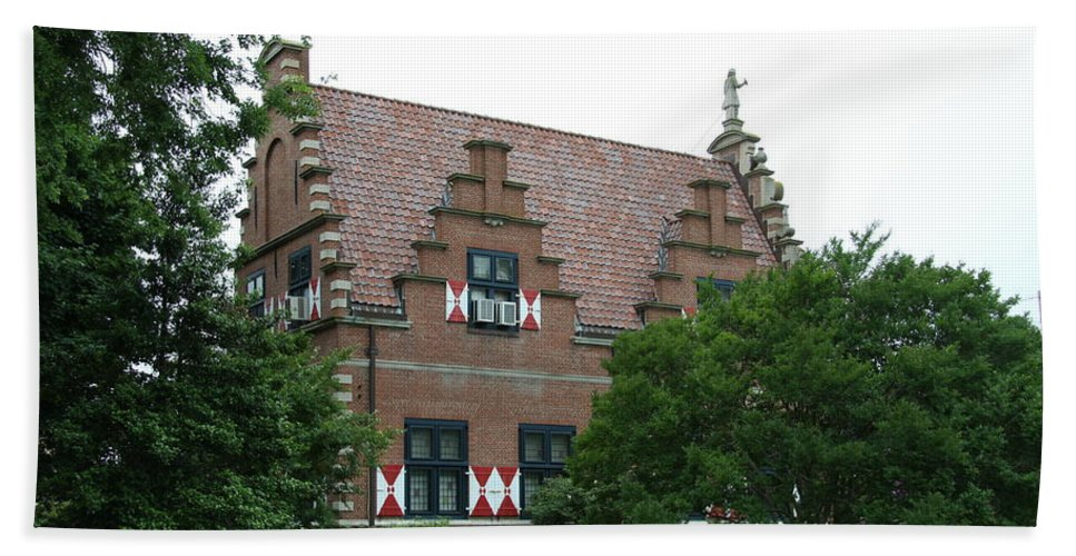 Dutch Hand Towel featuring the photograph Dutch Building - Henlopen by Christiane Schulze Art And Photography