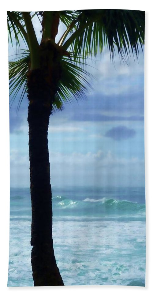 Ocean Bath Sheet featuring the photograph Dwell In Paradise by JAMART Photography