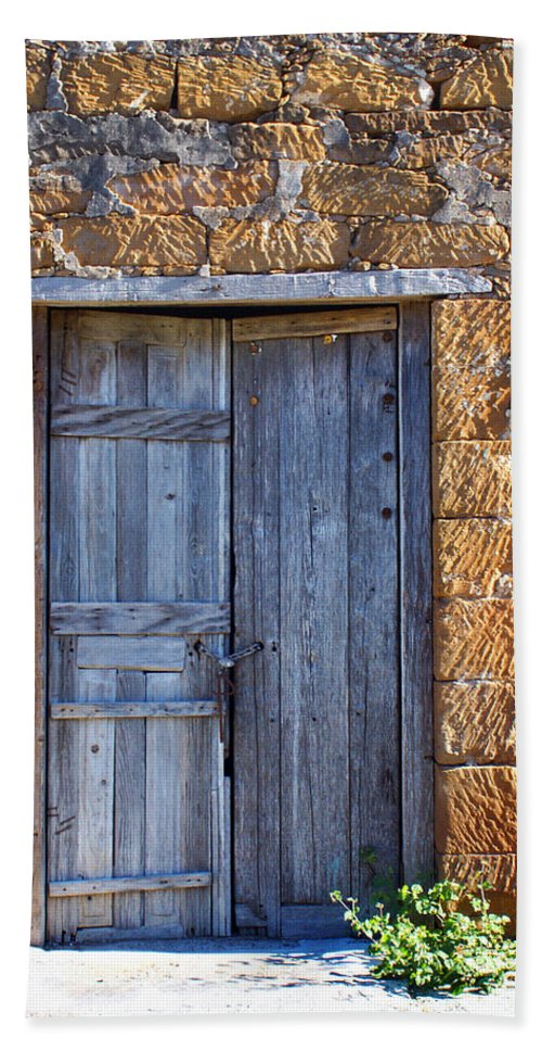 Door Bath Sheet featuring the photograph Earthen Colors by Marilyn Hunt