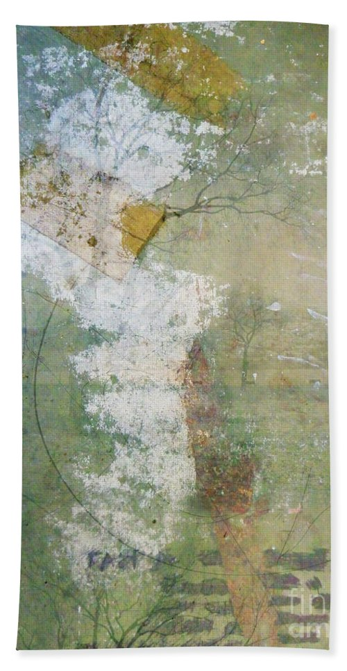 Texture Hand Towel featuring the photograph Earthly Possessions by Tara Turner