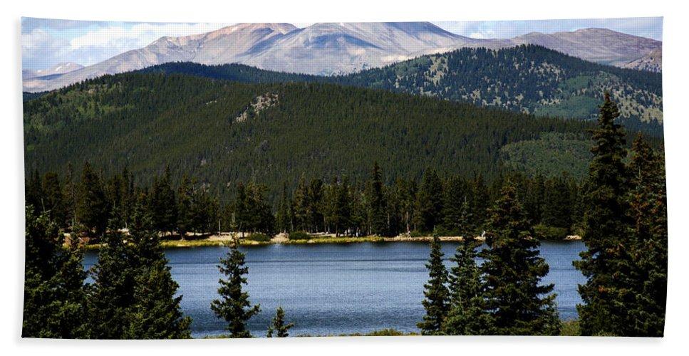 Colorado Bath Towel featuring the photograph Echo Lake Colorado by Marilyn Hunt