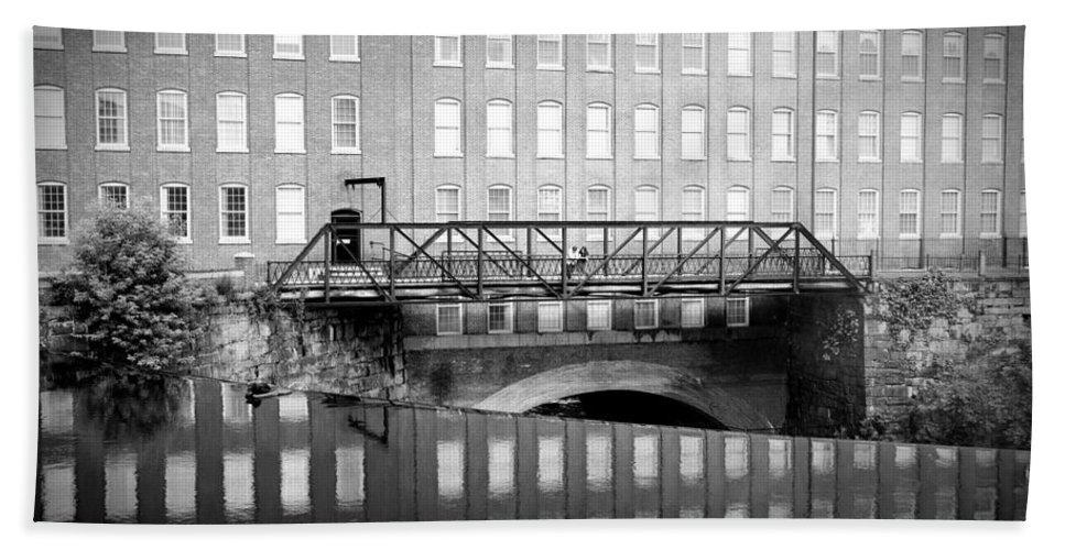 Mill Bath Sheet featuring the photograph Echoes Of Mills Past by Greg Fortier