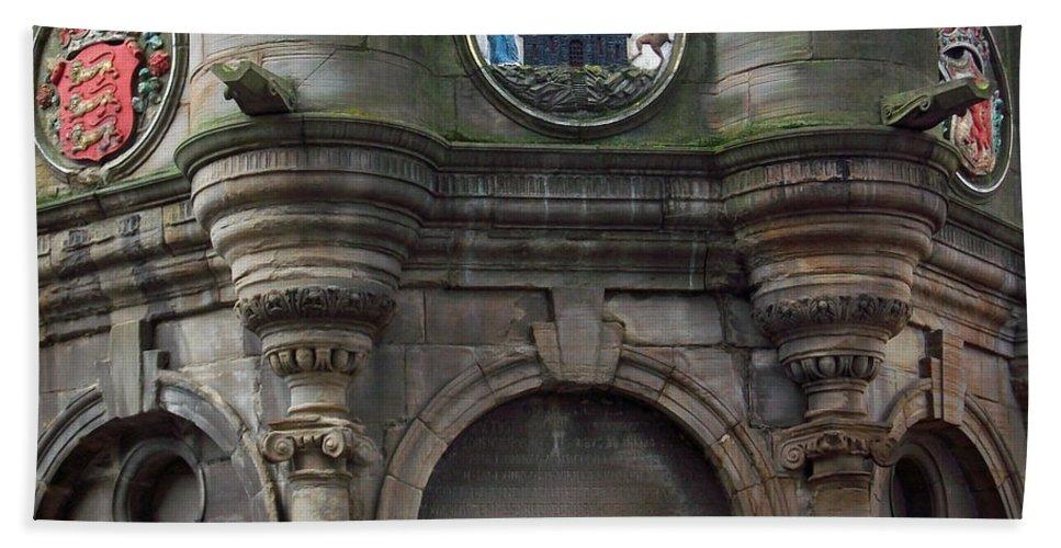 Scotland Hand Towel featuring the photograph Edinburgh Church by Munir Alawi