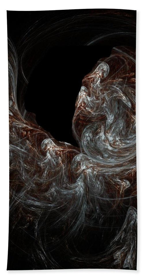 Fantasy Hand Towel featuring the digital art Ego States by David Lane