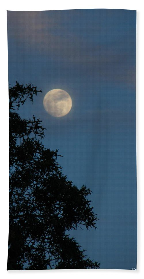 Patzer Hand Towel featuring the photograph Eight Thirty Two Pm by Greg Patzer