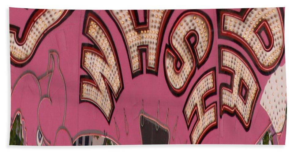 Seattle Bath Sheet featuring the digital art Elephant Car Wash by Tim Allen