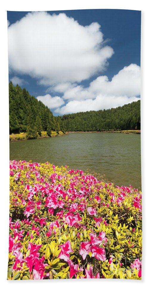 Portugal Bath Sheet featuring the photograph Empadadas Lakes II by Gaspar Avila
