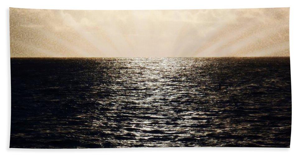 Hawaii Bath Sheet featuring the photograph Endless by JAMART Photography