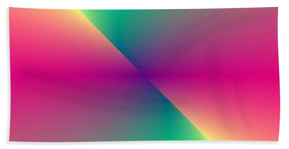 Electronic Bath Towel featuring the digital art Energy Flux by Joel Kahn