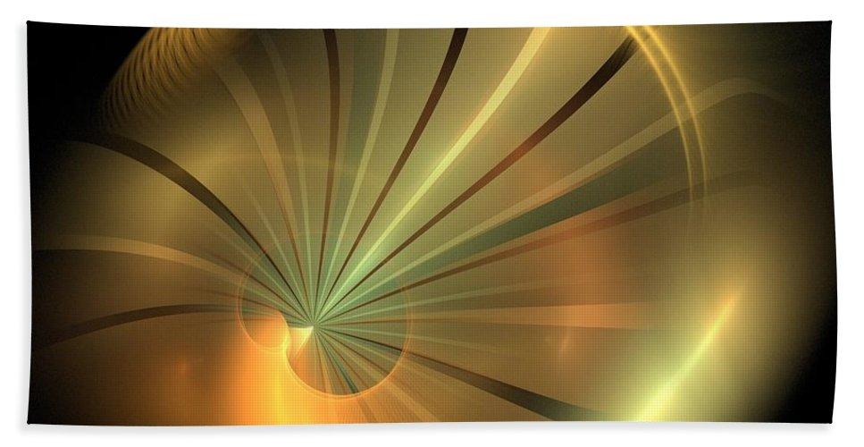Apophysis Bath Sheet featuring the digital art Equinox by Kim Sy Ok