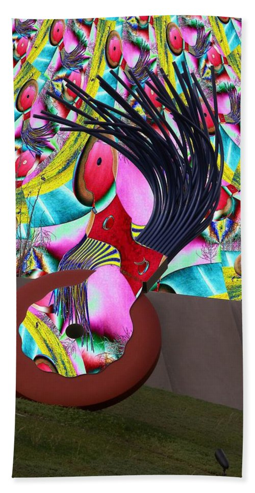 Seattle Bath Towel featuring the photograph Eraser by Tim Allen