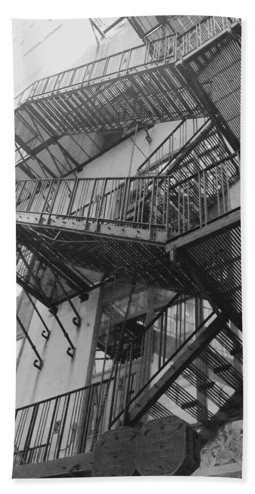 Bath Sheet featuring the photograph Escape by Jacqueline Manos