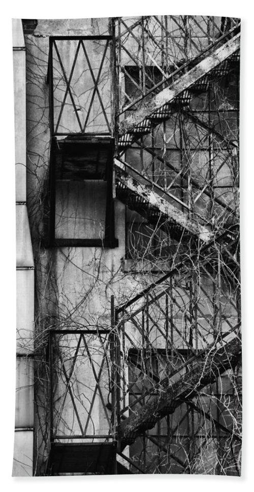 Escape Bath Sheet featuring the photograph Escape by Karol Livote