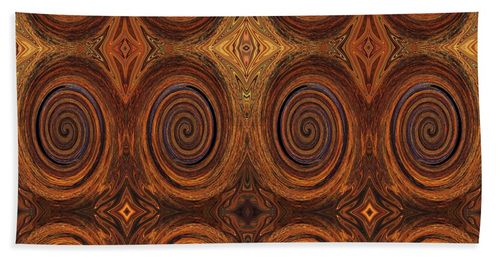 Rust Bath Sheet featuring the photograph Essence Of Rust - Tiled by Sue Duda