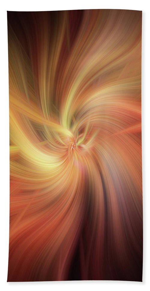Jenny Rainbow Fine Art Photography Hand Towel featuring the photograph Essential Vibrations Of Light by Jenny Rainbow