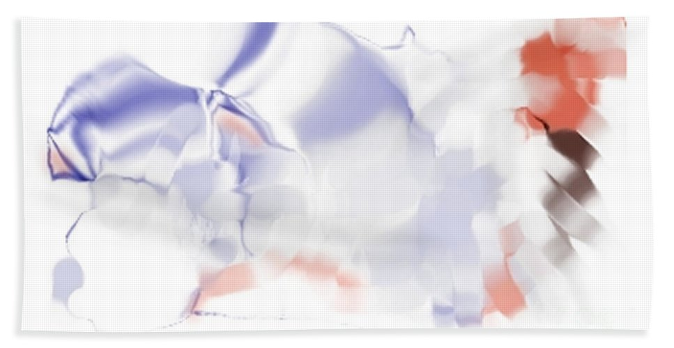 Ethereal Hand Towel featuring the digital art Ethereal by Ron Bissett