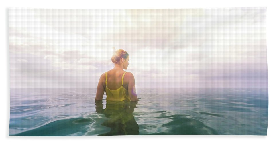 Eutierria Bath Towel featuring the photograph Eutierria by Nicklas Gustafsson