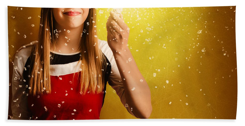 Christmas Hand Towel featuring the photograph Explosive Christmas Gift Idea by Jorgo Photography - Wall Art Gallery