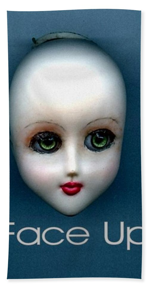 Face Up Bath Sheet featuring the photograph Face Up by T Cook