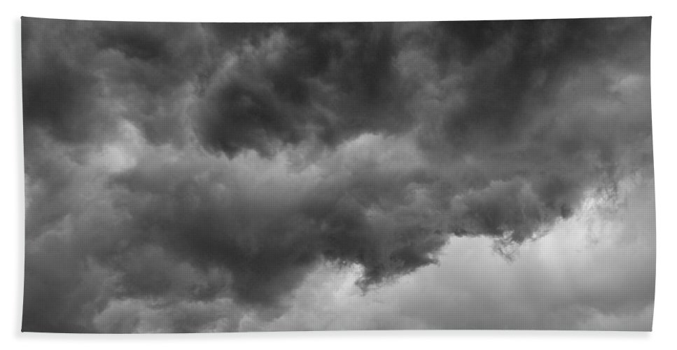 Clouds Bath Towel featuring the photograph Faces In The Mist Of Chaos by ChelleAnne Paradis