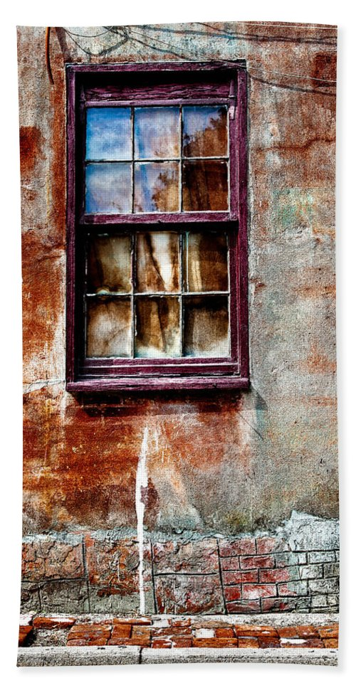 Window Bath Sheet featuring the photograph Faded Over Time 2 by Christopher Holmes