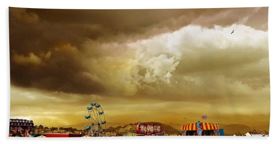 Fair Bath Sheet featuring the photograph Fair Weather by Mal Bray