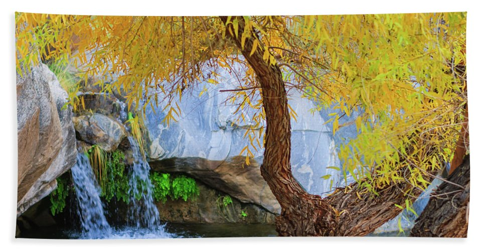 Waterfall Hand Towel featuring the photograph Fall At Murray Falls II by Scott Campbell