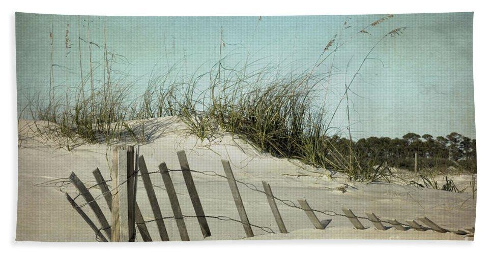 Sand Bath Sheet featuring the photograph Fallen by Joan McCool